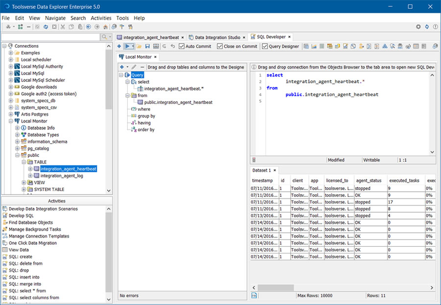 Database Management IDE